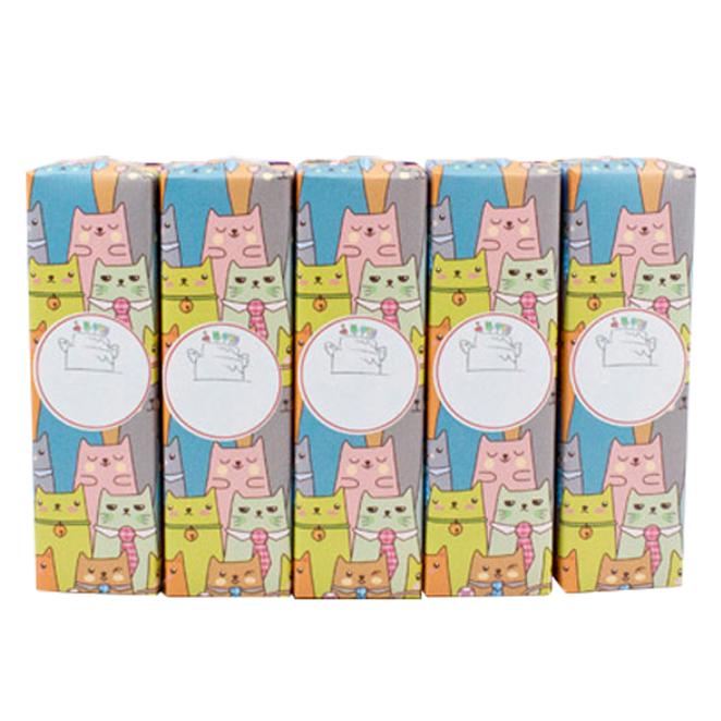 유치원 생일선물용 어린이치약 + 포장지 + 스티커 랜덤 발송, 90g, 5개