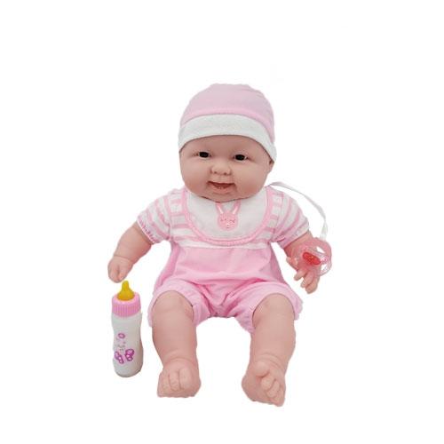 베렝구어 랏츠투쿠틀 안아주세요 아기인형 35009, 웃는표정