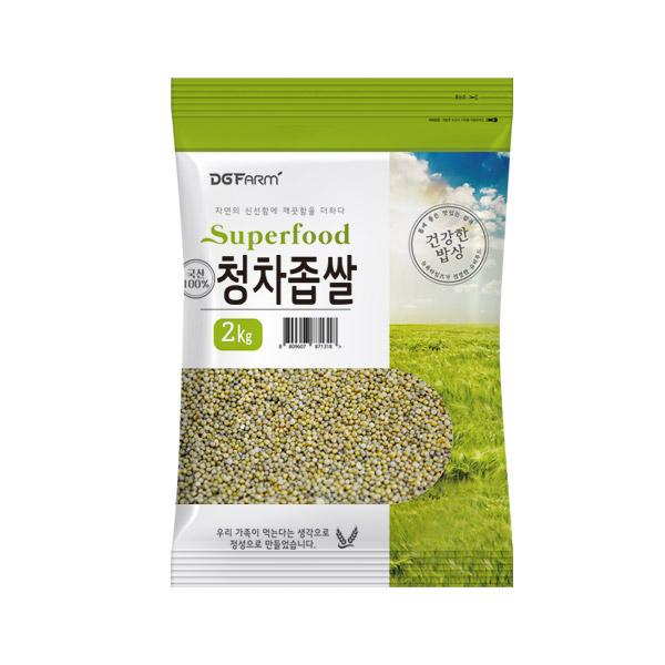 건강한밥상 국산 청차좁쌀, 2kg, 1개