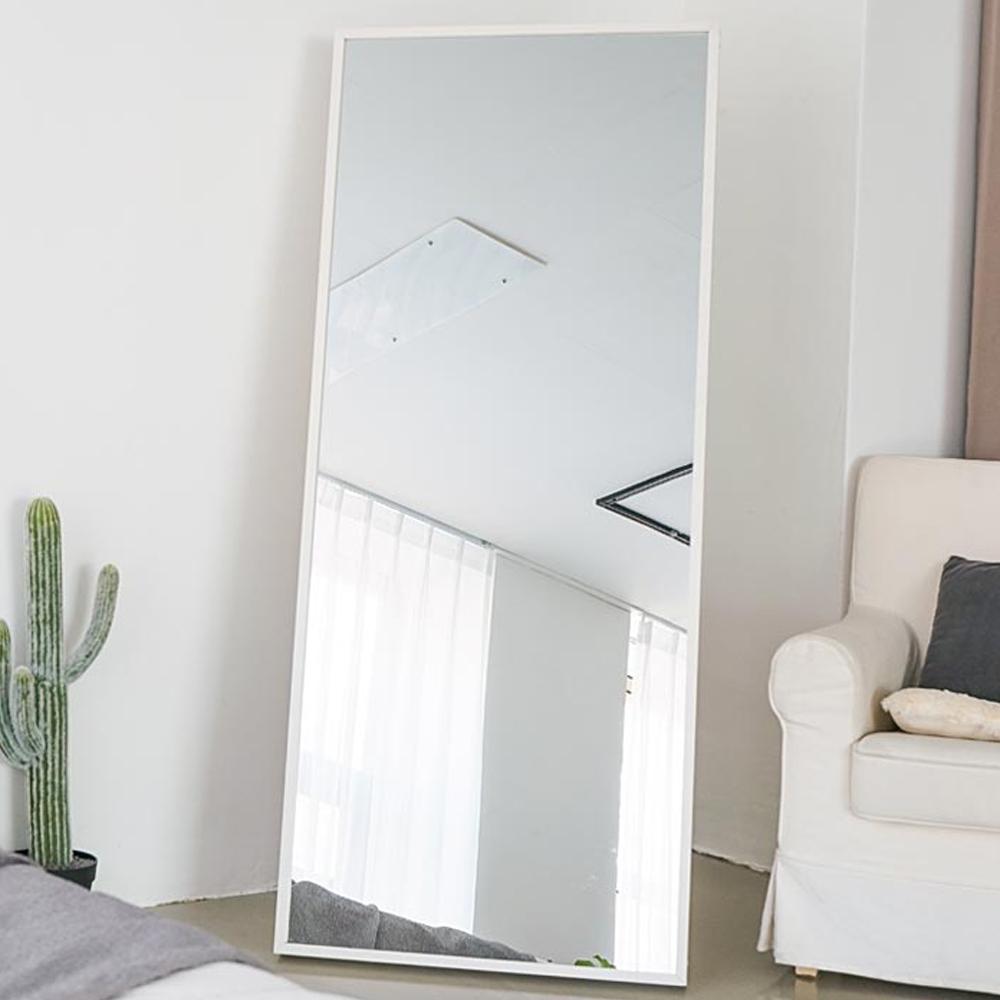 [대형 와이드 전신거울] 이즈하임 케이트 전신 거울 600 일반형, 화이트 - 랭킹2위 (52900원)