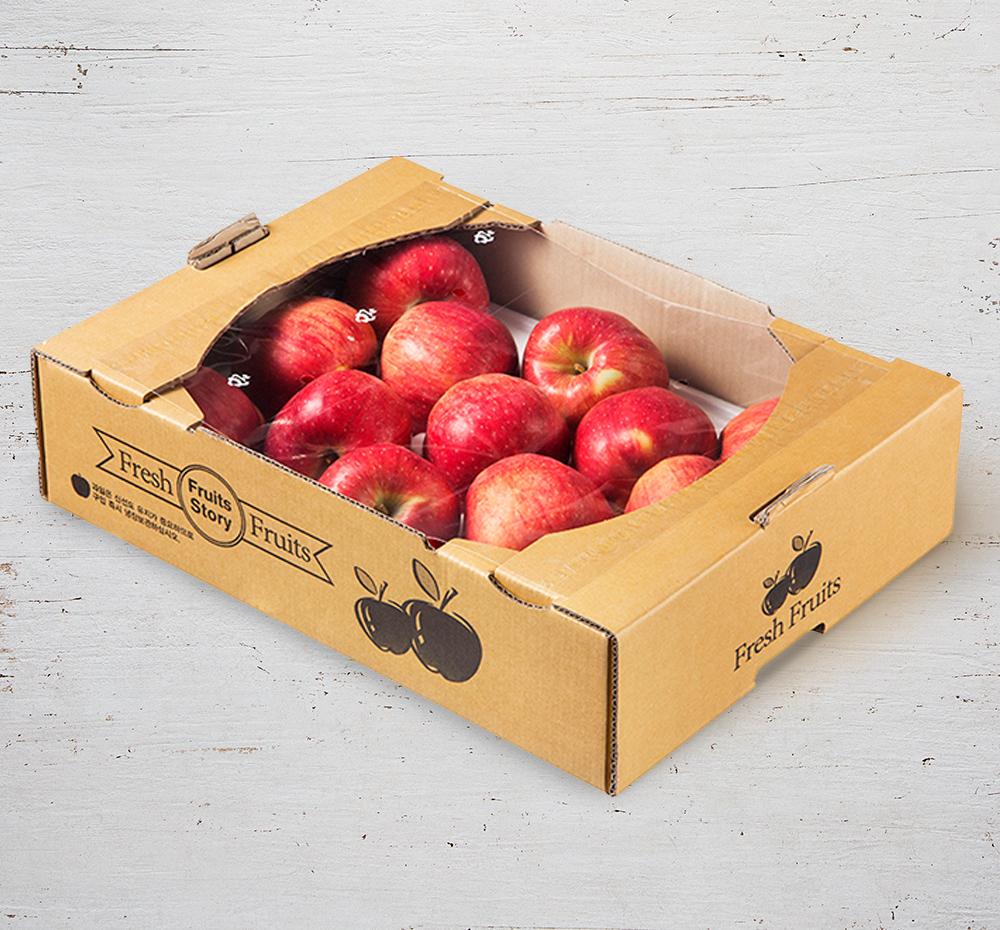 저탄소 인증 의성 햇사과, 3kg (12~16입), 1박스