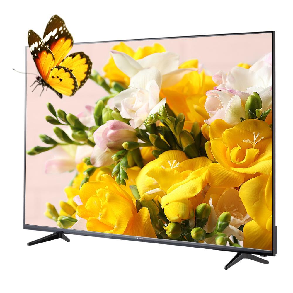 프리즘 4K UHD HDR TV 165.1cm PT650UD + HDMI케이블, 스탠드형, 방문설치