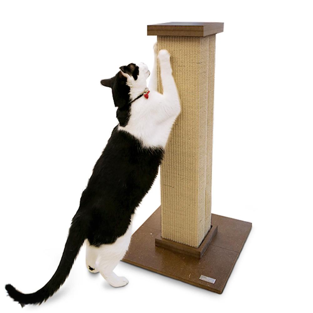 피카노리 고양이 스크래쳐 기둥형, 브라운, 1개