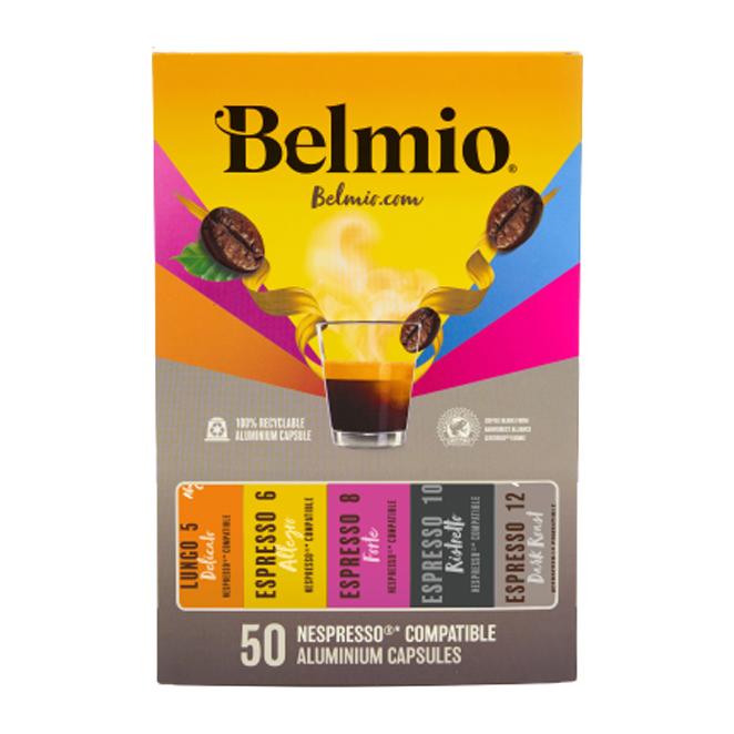 벨미오 클래식 컬렉션 52g x 5종 네스프레소 호환 캡슐커피 기프트 세트, 1세트