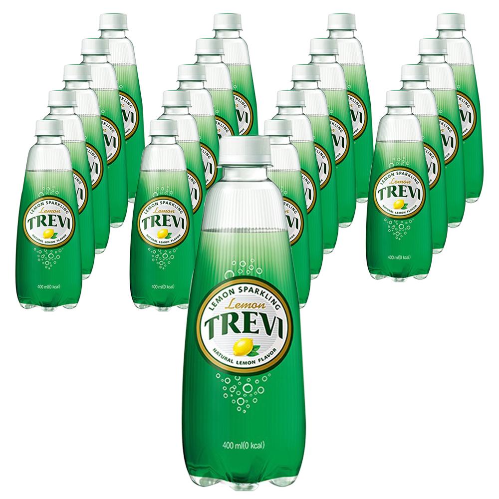 트레비 탄산음료 레몬맛, 400ml, 20개