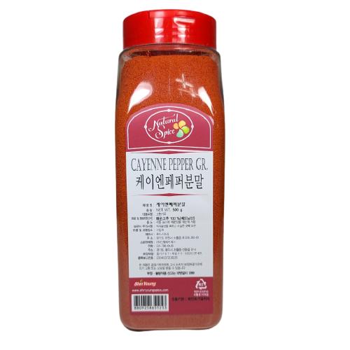 내츄럴스파이스 케이앤페퍼분말, 500g, 1개