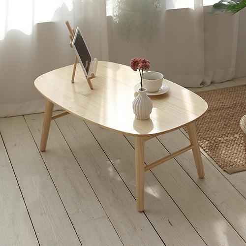 올리빙 원목 다용도 접이식 테이블 800, 단일색상