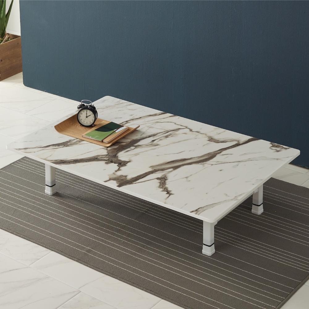조은세상 모니카 테이블 1200 x 800 mm, 마블W