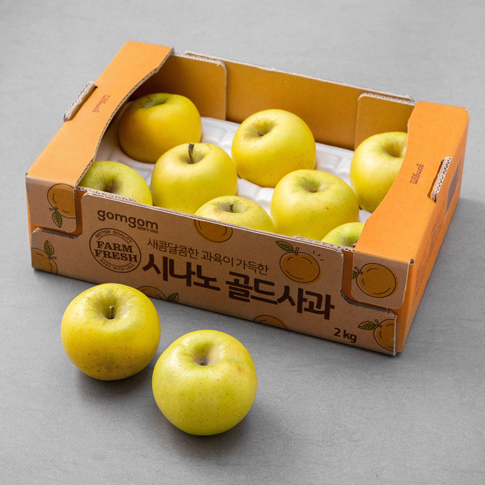 곰곰 시나노 골드사과, 2kg(7~10입), 1박스