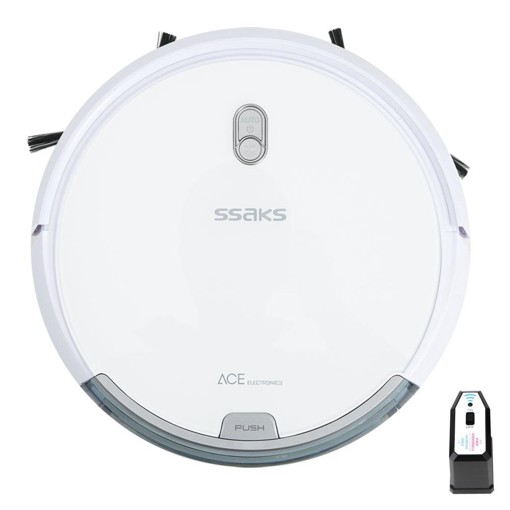 싹스 스마트 로봇 물걸레 청소기 ARW-C100, 화이트