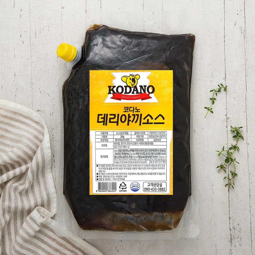 코다노 데리야끼 소스, 2kg, 1개
