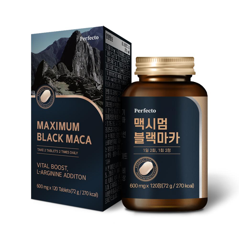 퍼펙토 맥시멈 블랙마카 72g, 120정