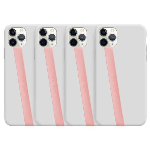 [핑거 스트랩] 신지모루 실리콘 휴대폰 핑거 스트랩, 핑크, 4개 - 랭킹35위 (8830원)