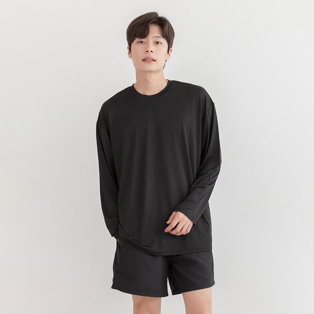 서울물산 남성용 루즈핏박시 래쉬가드 상하의 세트
