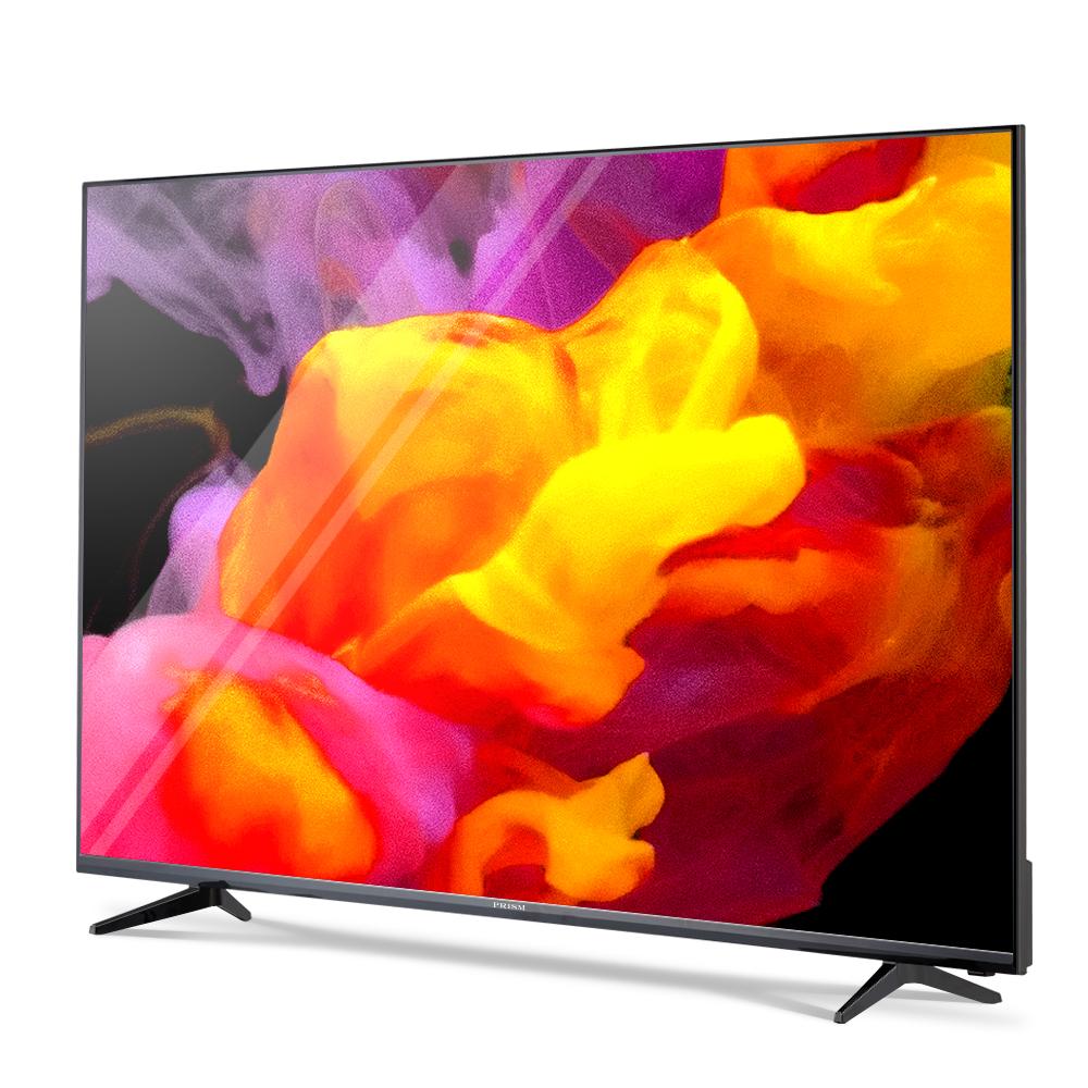 프리즘 4K UHD HDR TV 165.1cm PT650UD + HDMI케이블, 스탠드형, 자가설치