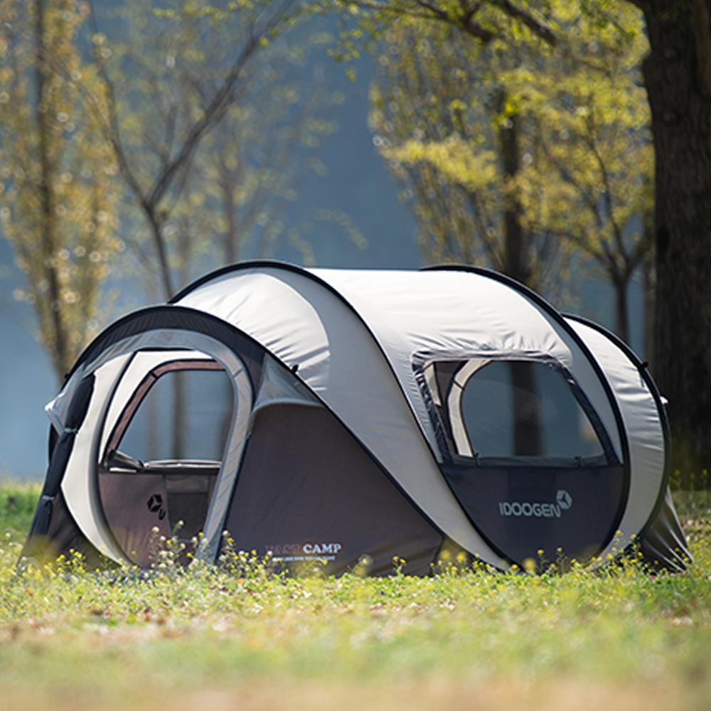패스트캠프 오페라 스위트 원터치 텐트, 라이트그레이, 5인용