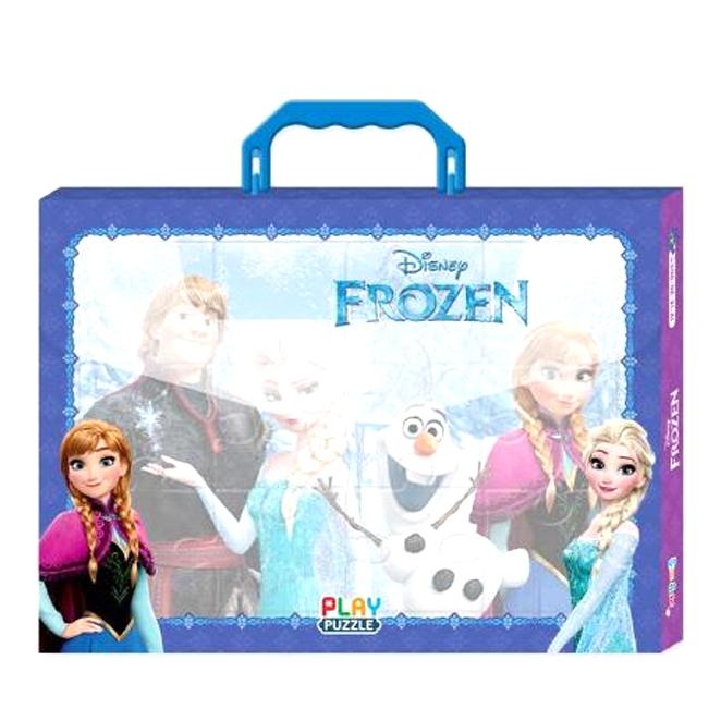 디즈니 가방 퍼즐 겨울왕국 4종세트 (12.16.24.30조각), 계림북스