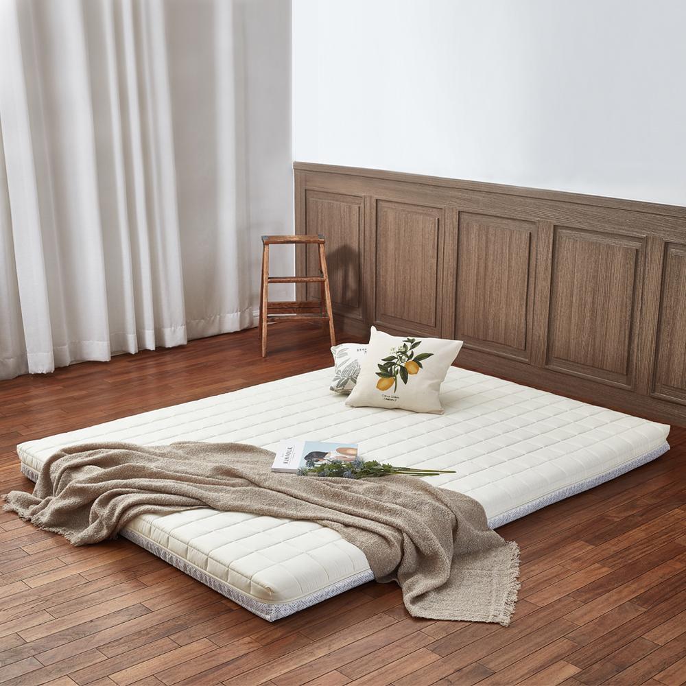 더릭스홈 9존 마약매트리스 침대형 8cm + 폴리겉커버, 아이보리