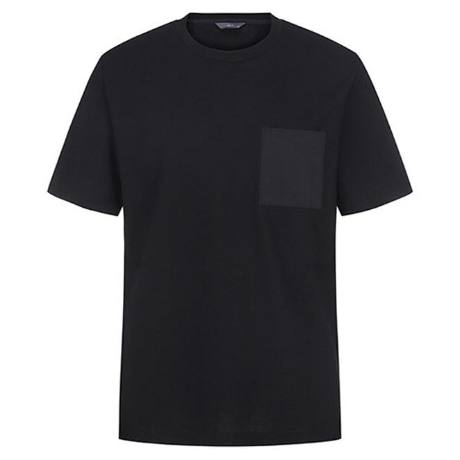 앤드지 포켓 포인트 에어로쿨 반팔 티셔츠 BLA2TR1002