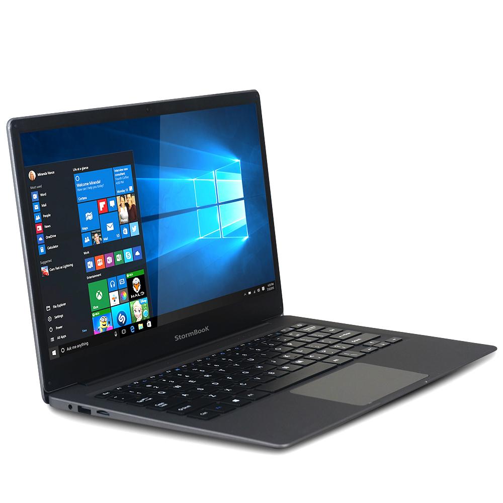 아이뮤즈 스톰북 13 플러스 노트북 다크그레이 StormBook13 (아톰-Z8350 33.7cm WIN10 Home), 포함, eMMC 64GB, 2GB
