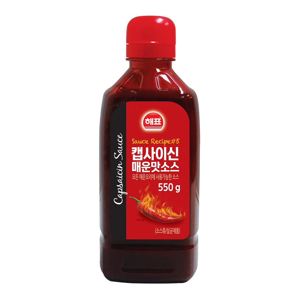 사조해표 캡사이신 매운맛소스, 550g, 1개