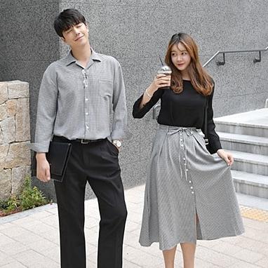 선남선녀 매력남자 셔츠 + 매력여자 스커트