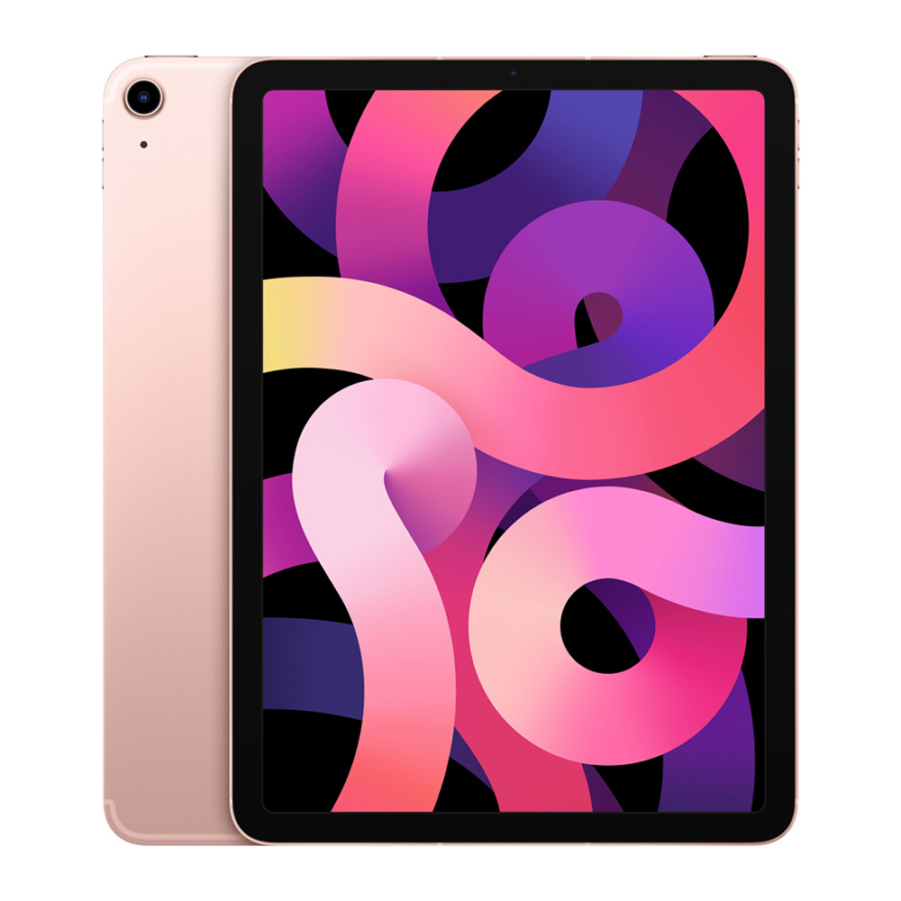 Apple iPad Air 4세대, Wi-Fi+Cellular, 256GB, 로즈 골드