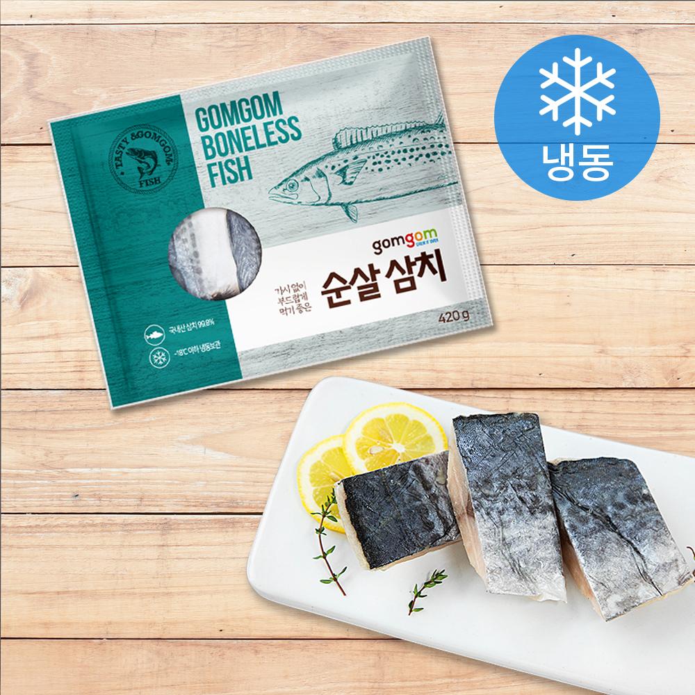 곰곰 순살 삼치 (냉동), 420g, 1개