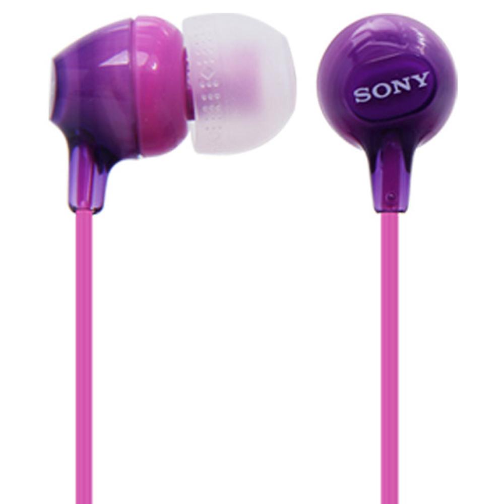 소니 이어폰, MDR-EX15LP, 바이올렛