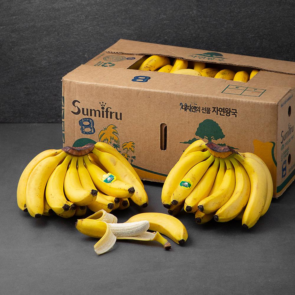 스미후루 자연왕국 바나나, 13kg, 1박스