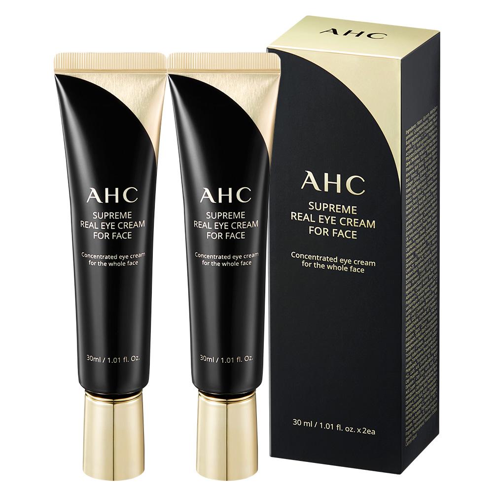 AHC 슈프림 리얼 포 페이스 아이크림, 30ml, 2개