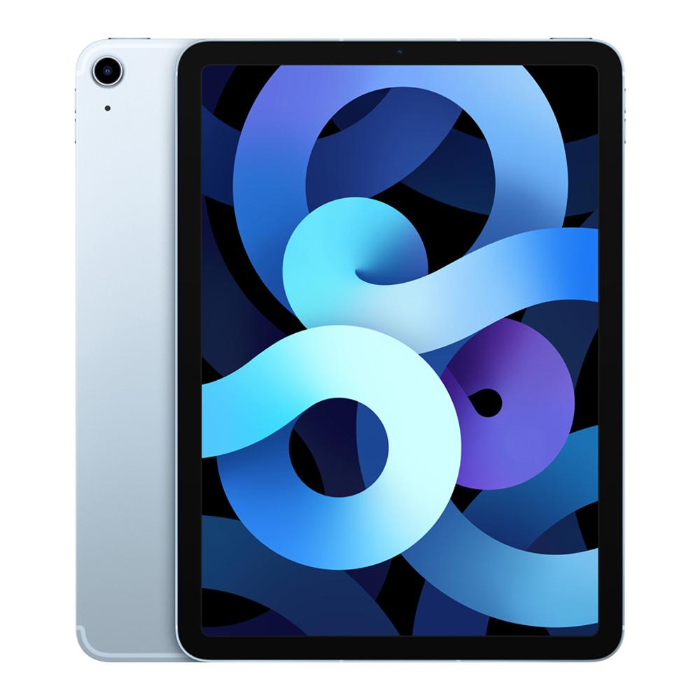 Apple iPad Air 4세대, Wi-Fi+Cellular, 256GB, 스카이 블루