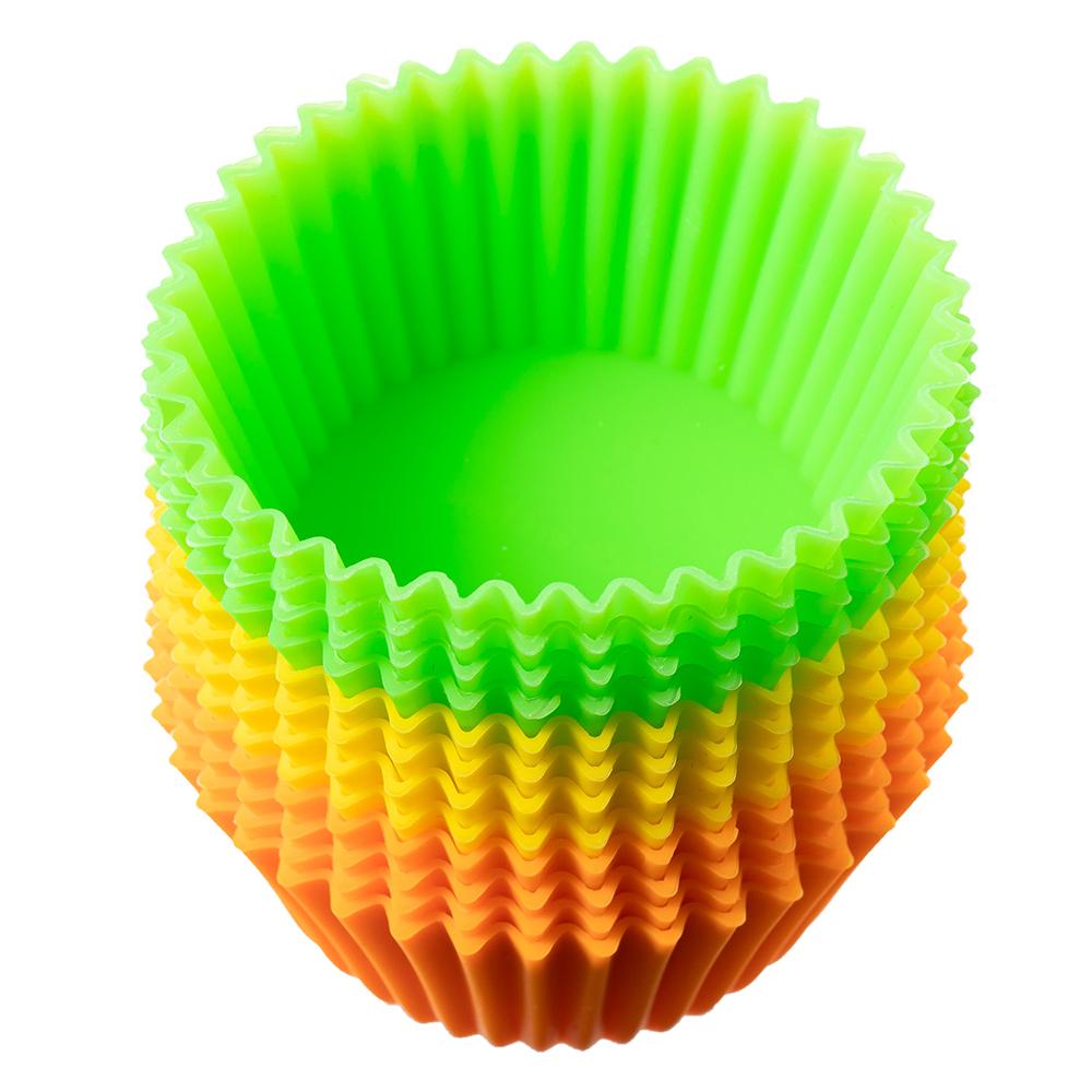 코멧 키친 실리콘 베이킹 컵 80ml, 12개입
