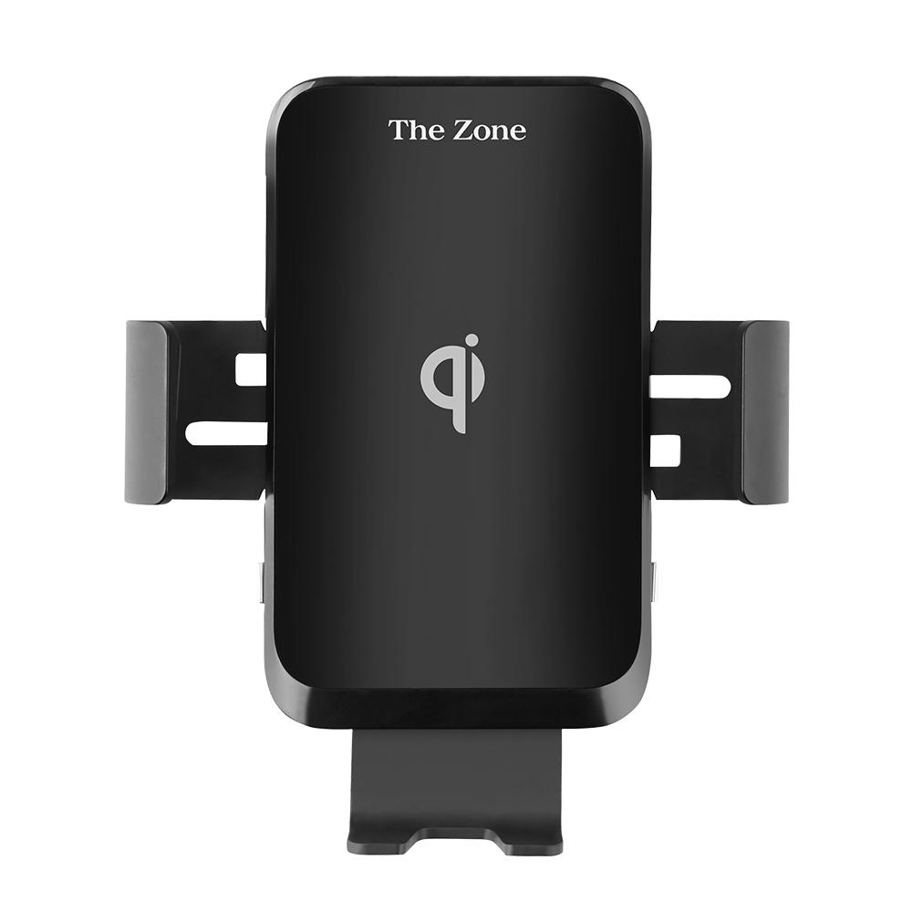 더존 차량용 핸드폰 FOD 센서 고속 무선충전 거치대 TZ-C100, 1개, 혼합 색상
