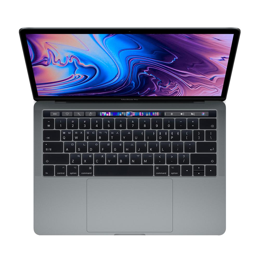 [맥북] Apple 2018년 맥북 프로 터치바 13 8세대, i5-2.3GHz quad-core, 8GB, SSD 512GB, 스페이스 그레이 - 랭킹61위 (2035800원)
