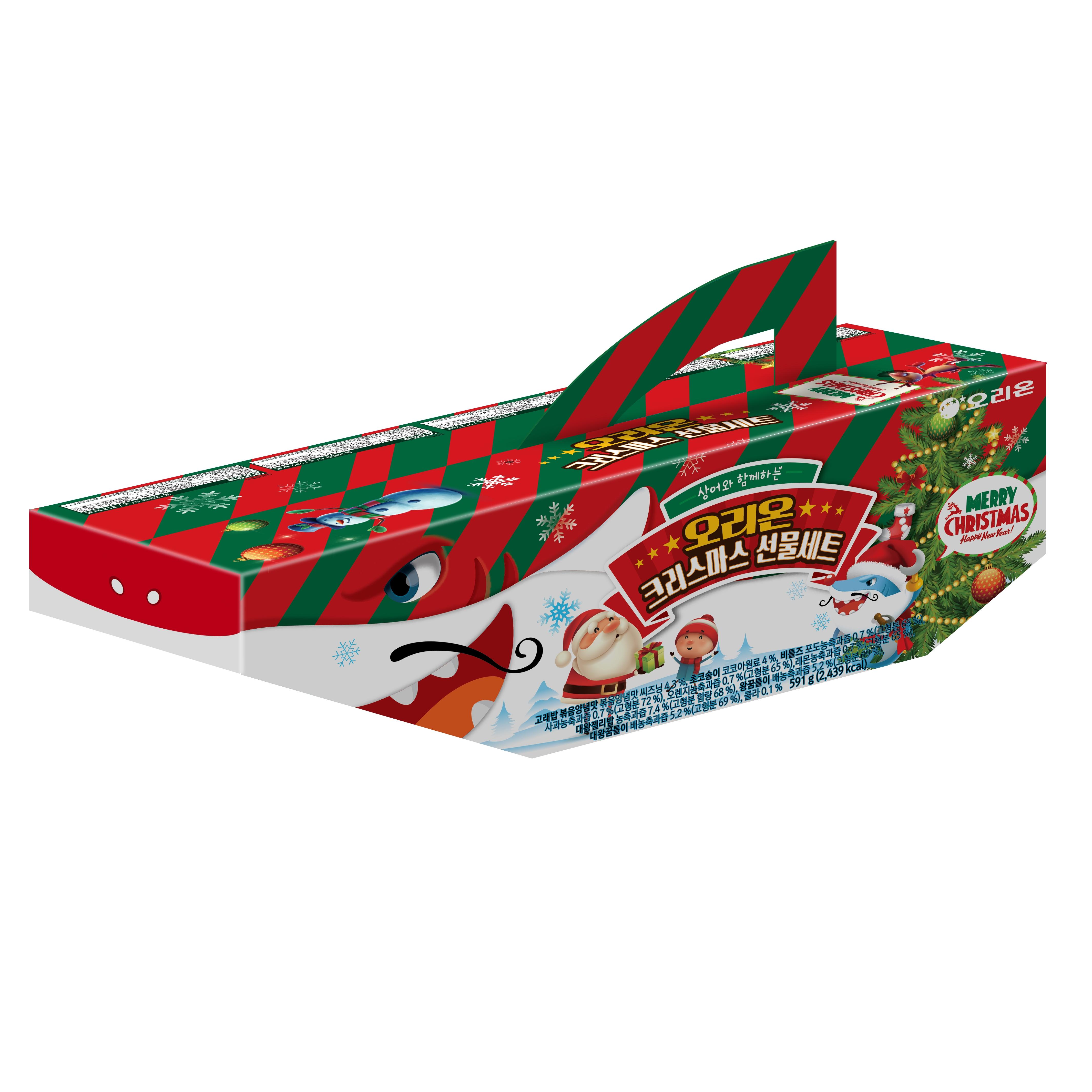 오리온 상어패밀리 크리스마스 선물세트, 11개, 1세트