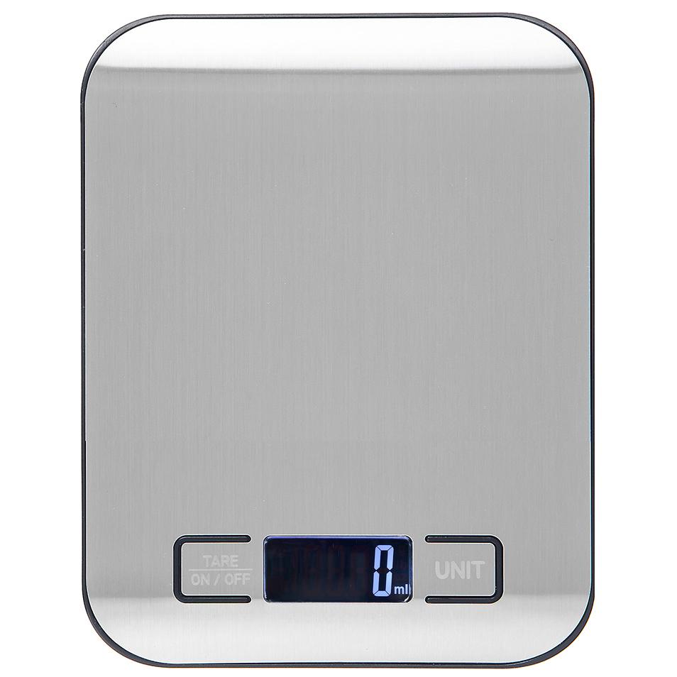 홈플래닛 스테인레스 디지털 백라이팅 주방저울 1kg