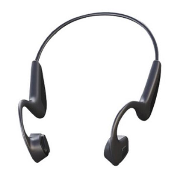 Nutz 골전도 블루투스 이어폰, N10, 블랙