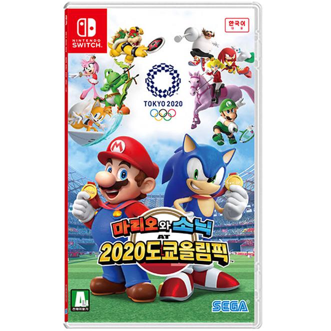 닌텐도 SWITCH 마리오와 소닉 2020도쿄올림픽 한글판, 단일 상품