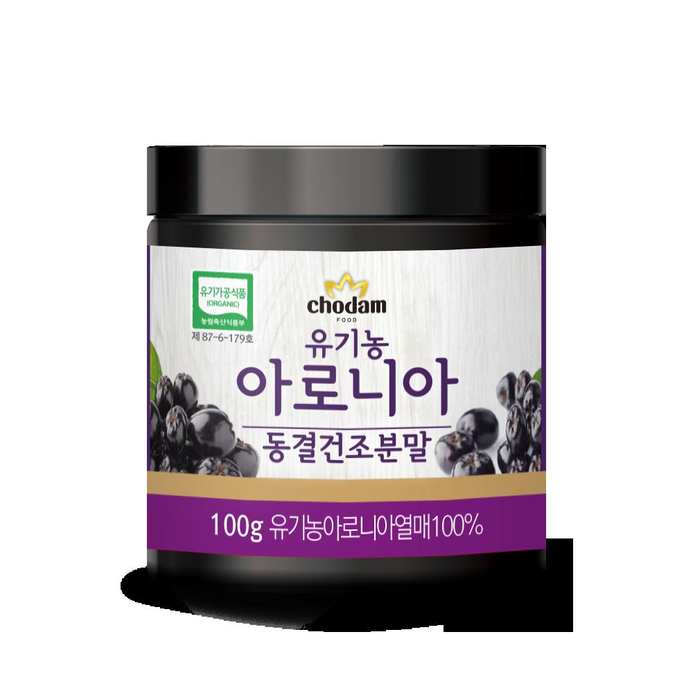 초담식품 유기농 동결건조 아로니아 분말, 100g, 1개
