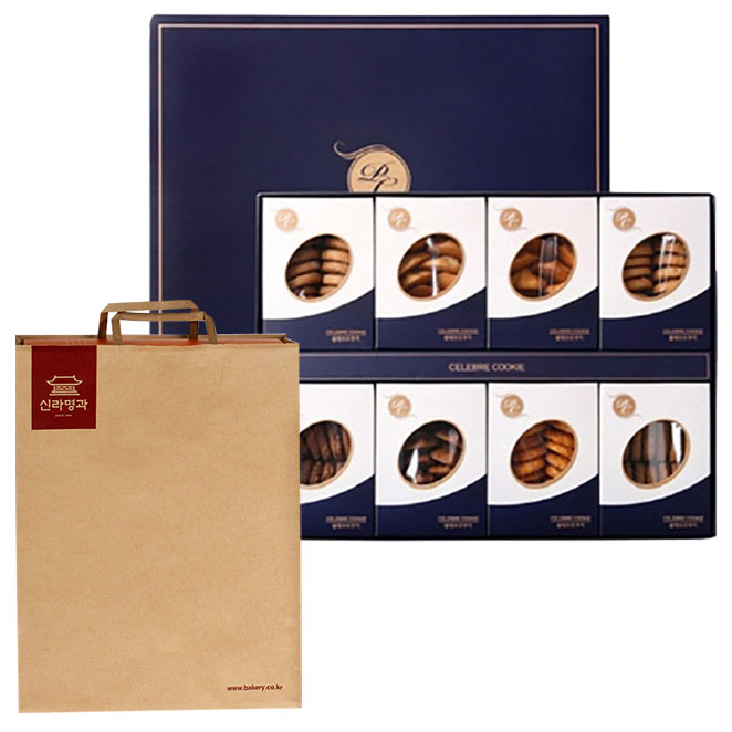 신라명과 셀레브르쿠키 대 과자선물세트 + 쇼핑백
