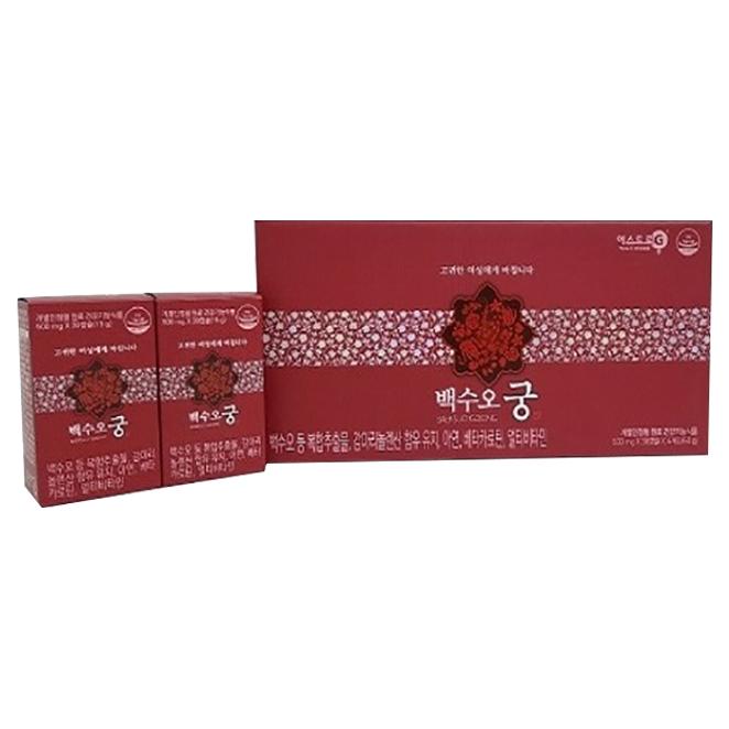 백수오궁 갱년기영양제, 120정, 1박스