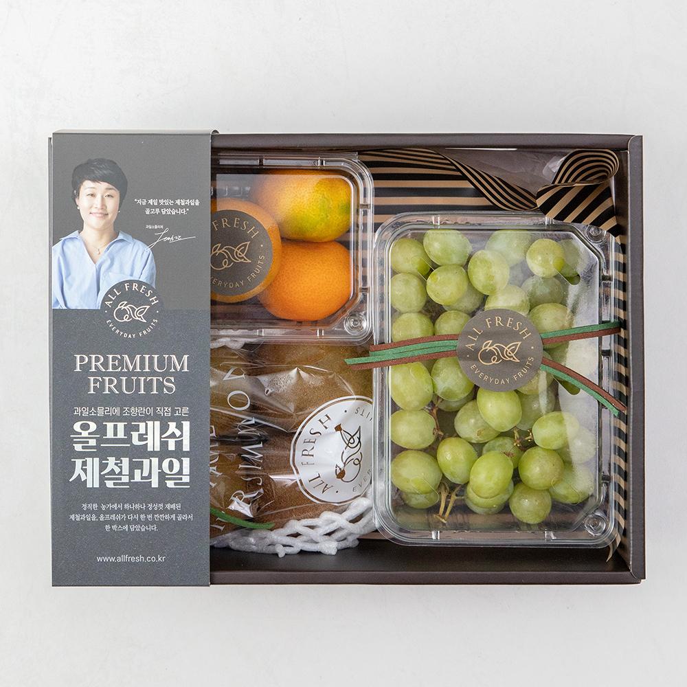 올프레쉬 프리미엄 과일선물세트 4호, 1.1kg, 1세트