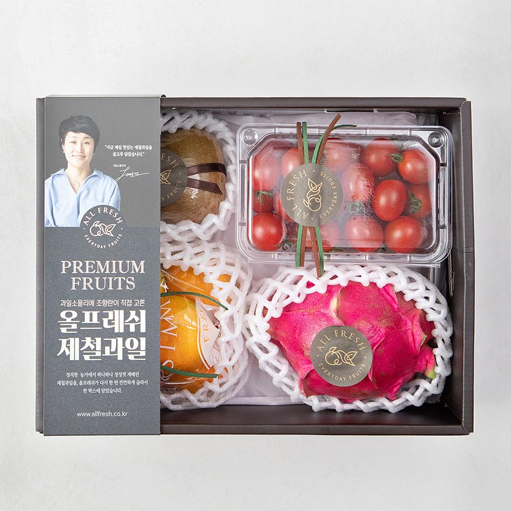 올프레쉬 제철과일 선물세트 2호, 1박스