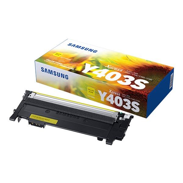 삼성전자 컬러 레이저프린터 정품토너 CLT-Y403S, 노랑, 1개