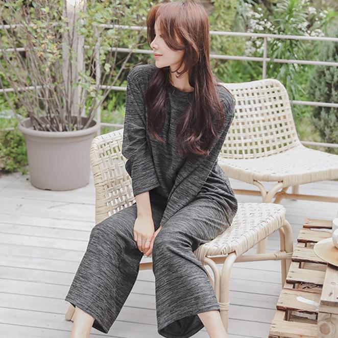 글램공감 여성용 보카시 투피스 잠옷