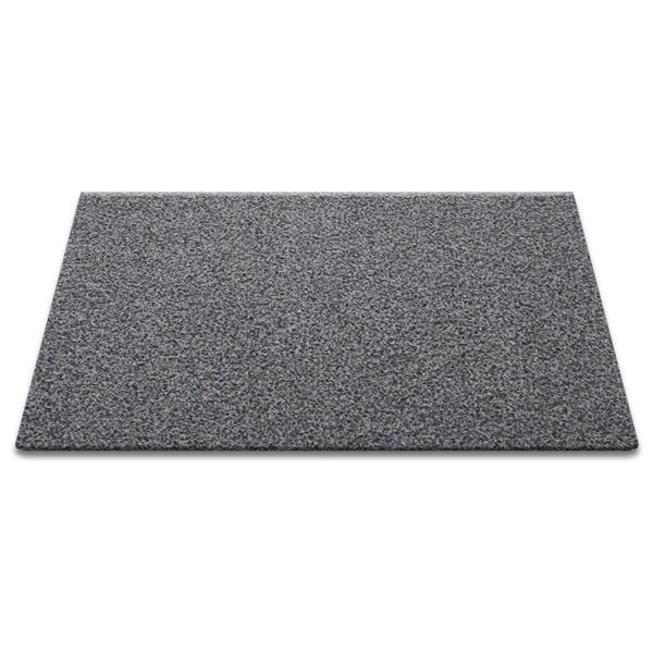 순수 코일 현관매트 120 x 100 cm 두께 12mm, 그레이 + 블랙, 1개