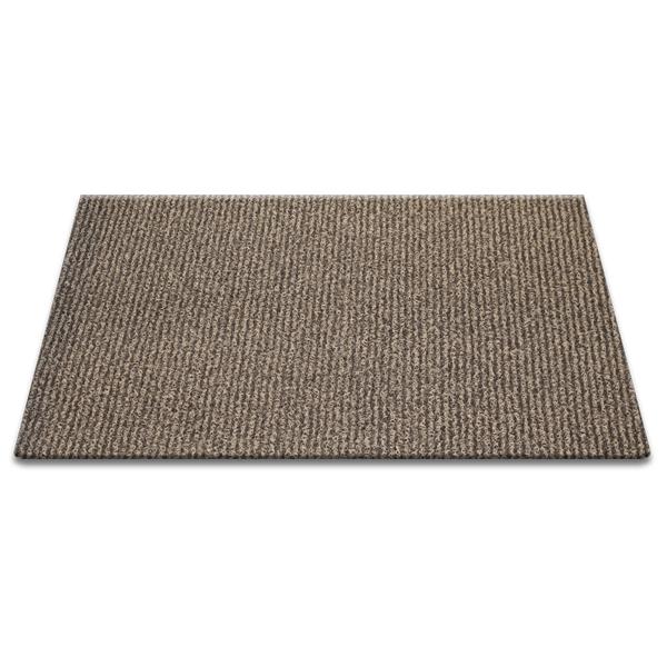순수 코일 현관매트 100 x 120 cm, 베이지 + 브라운, 1개