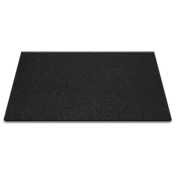 순수 코일현관매트 60 x 90cm, 올블랙, 1개