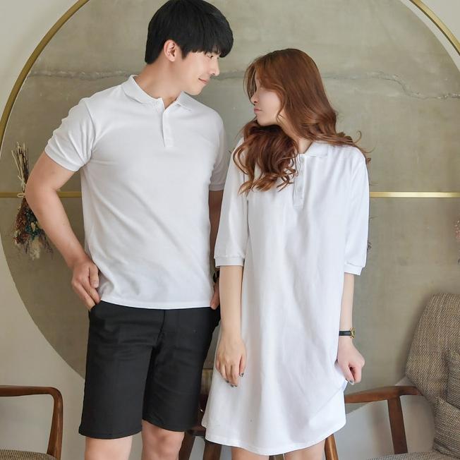 선남선녀 순수 남자 PK티셔츠 + 순수 여자 PK원피스
